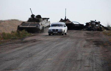 Боевики с помощью артиллерии атаковали Луганский аэропорт