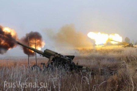 В Луганске проходят учения с участием тяжёлой артиллерии